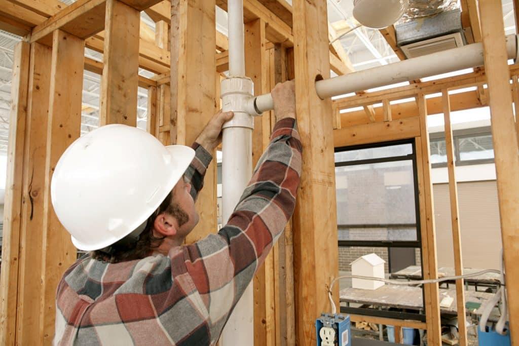 new plumbing contractor